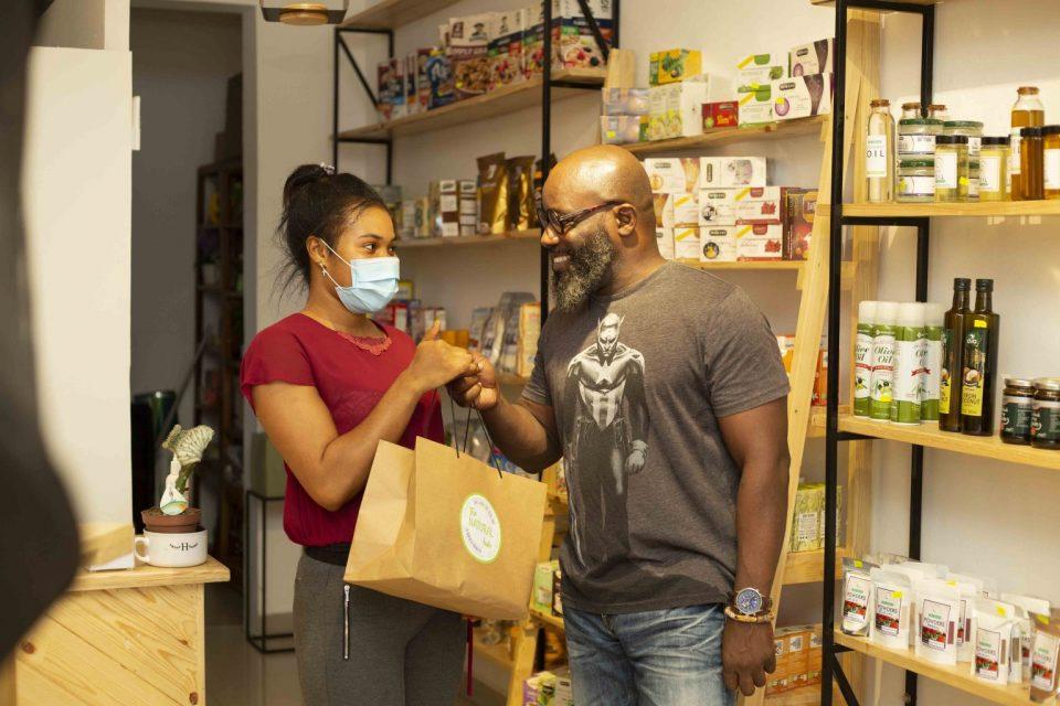 Ghana's growing health shop.